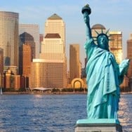 Statue of Liberty - NY Skyline