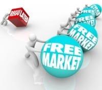 Free Market Vs Regulation Disadvantage Competition Regulated Bus